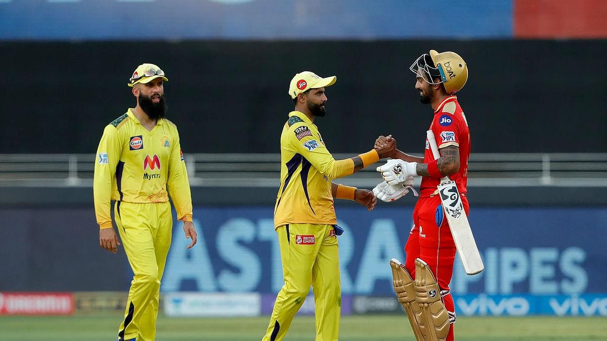 IPL 2021: केएल राहुल की दमदार पारी से पंजाब ने चेन्नई को छह विकेट से हराया