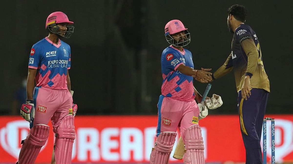 IPL 2021: कोलकाता ने राजस्थान को 86 रनों से हराया