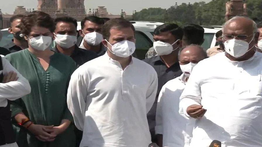 Lakhimpur Violence: राहुल की अगुवाई में राष्ट्रपति से मिला कांग्रेस प्रतिनिधिमंडल, मंत्री अजय मिश्रा के इस्तीफे की मांग उठाई