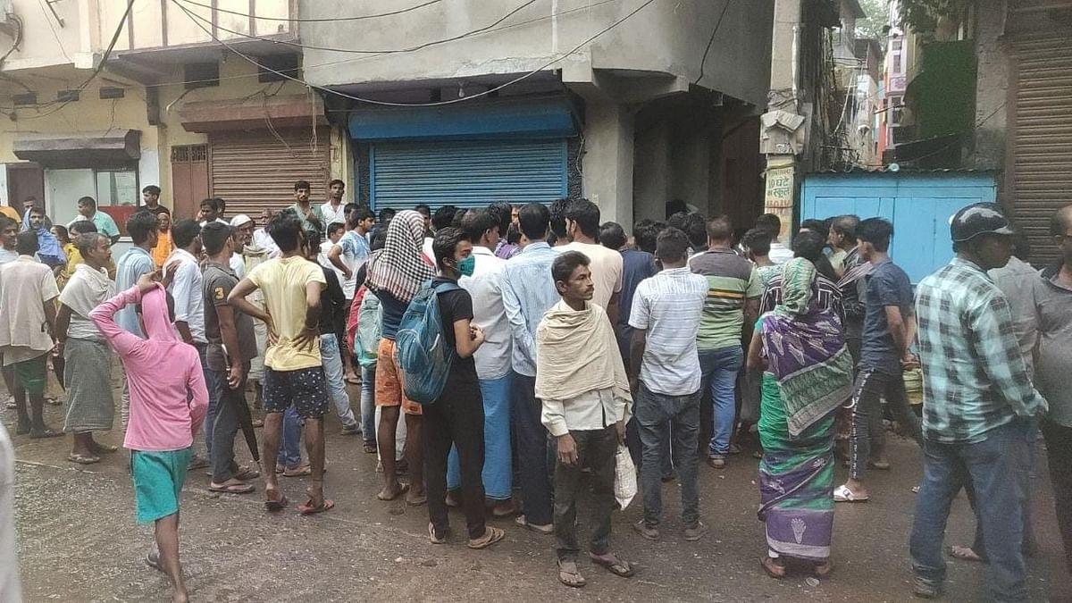बिहार: पटना में बढ़ते अपराधों के खिलाफ व्यापारियों ने किया प्रदर्शन