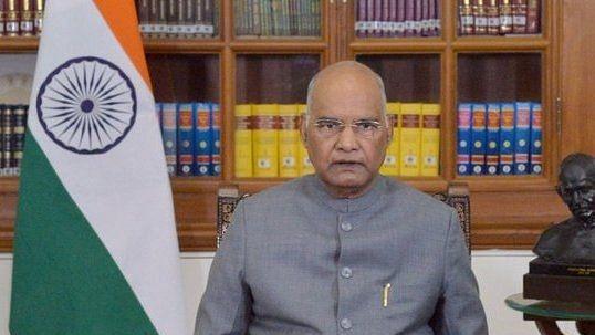 वरिष्ठ अधिवक्ता कमजोर वर्गो को नि:शुल्क सेवा दें: राष्ट्रपति रामनाथ कोविंद