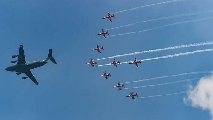 Indian Air Force Day: भारतीय वायुसेना का 89वां स्थापना दिवस आज, हिंडन एयरबेस पर राफेल और सुखोई ने दिखाया दम