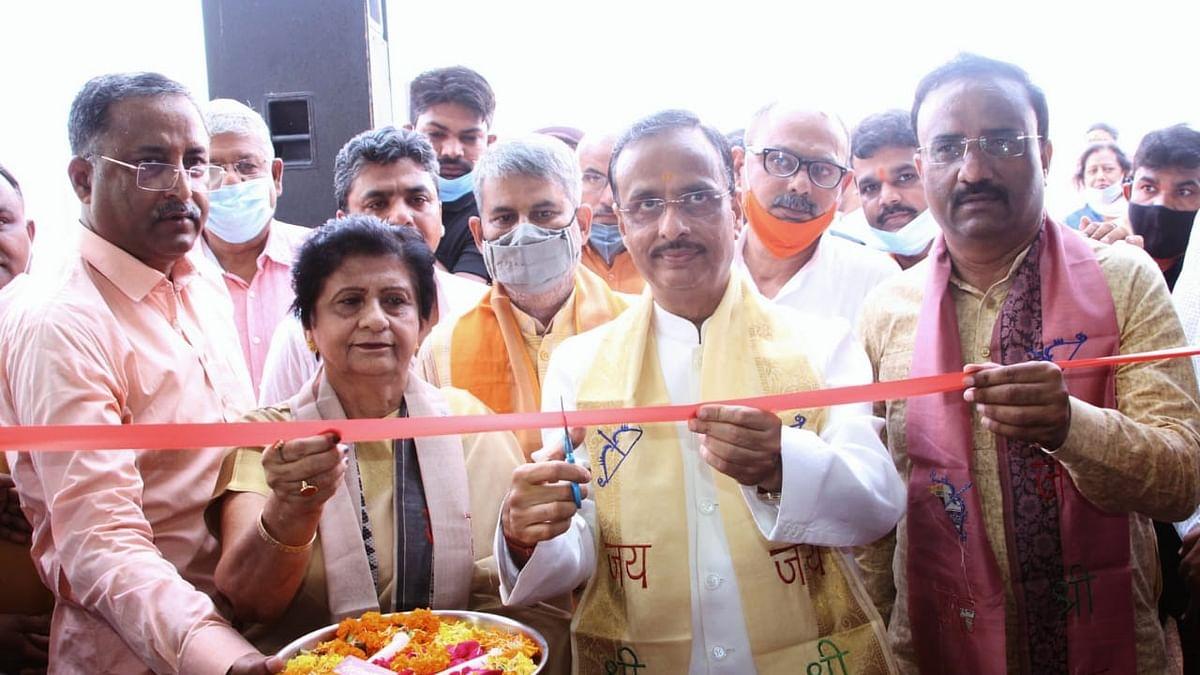 यूपी: उपमुख्यमंत्री डॉ दिनेश शर्मा ने किया प्रधानमंत्री जन औषधि केंद्र का उद्घाटन