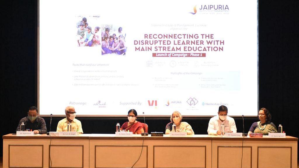 बाधित शिक्षार्थी को मुख्य धारा की शिक्षा से फिर से जोड़ने के लिए जयपुरिया इंस्टिट्यूट ने शुरू किया अभियान