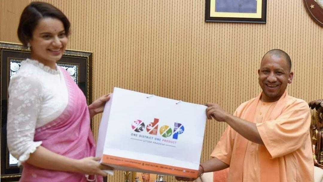 फिल्म अभिनेत्री कांगना रनौत को यूपी सरकार ने बनाया ODOP का ब्रांड एम्बेसडर