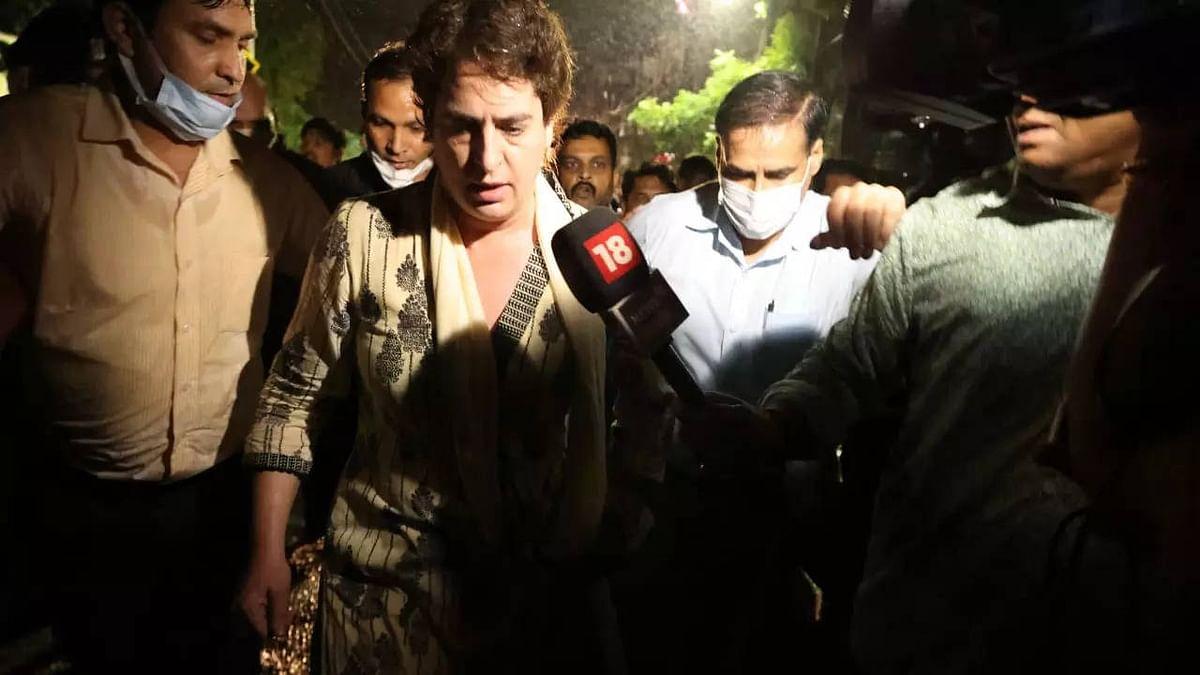 लखीमपुर खीरी मामला: किसानों से मिलने जा रहीं प्रियंका गांधी को सीतापुर पुलिस ने किया गिरफ्तार
