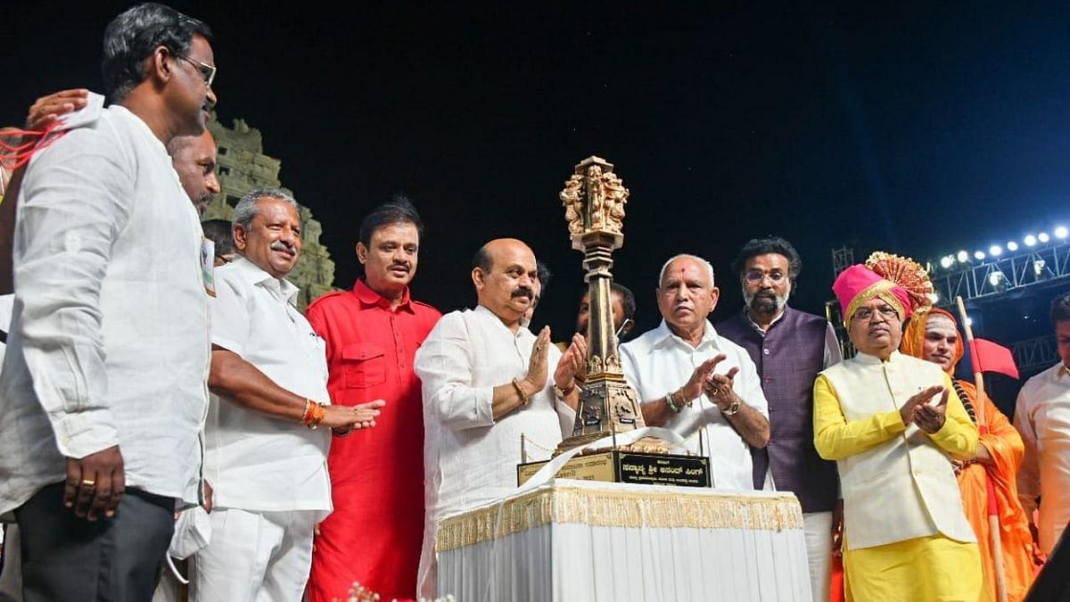 मुख्यमंत्री बसवराज बोम्मई ने कर्नाटक के नए जिले विजयनगर का किया उद्घाटन
