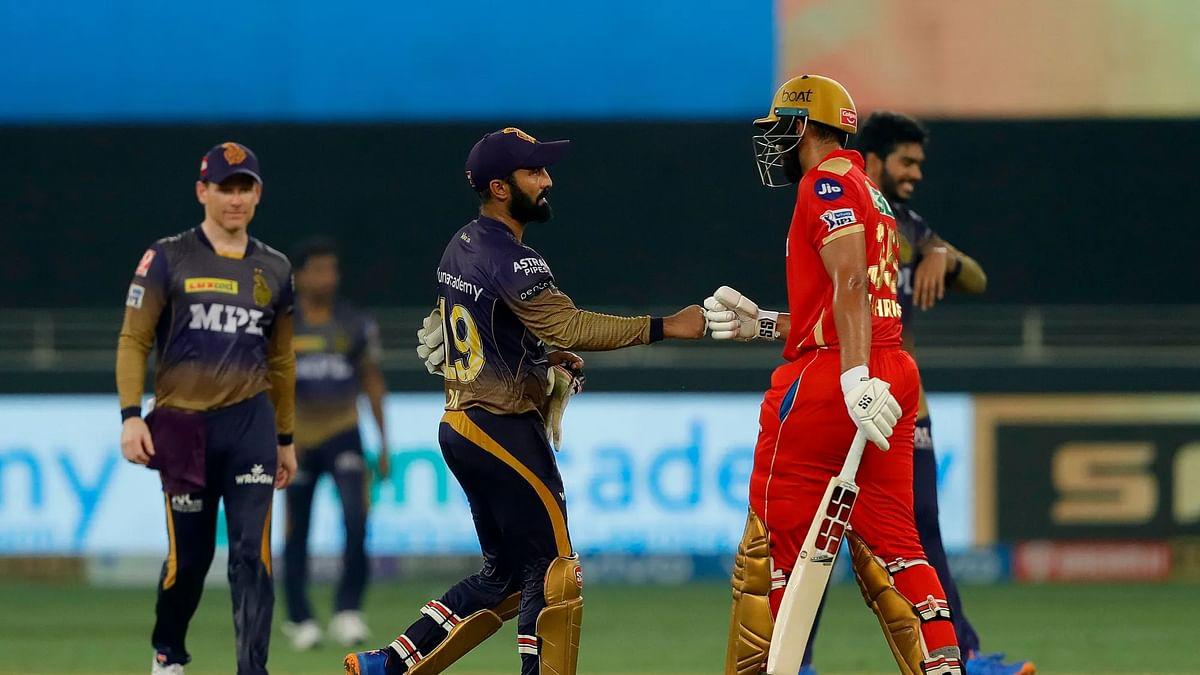 IPL 2021: राहुल की अर्धशतकीय पारी के दम पर पंजाब ने केकेआर को दी शिकस्त